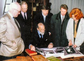 Michael Wynne-Parker with HRH Prince Michael of Kent, Livadia Palace, Crimea, April 2002